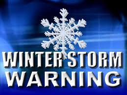 winter storm warning