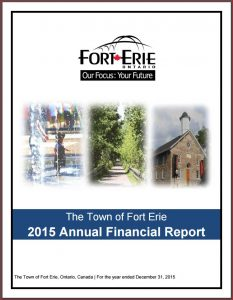 2015 Annual Financial Report cover page
