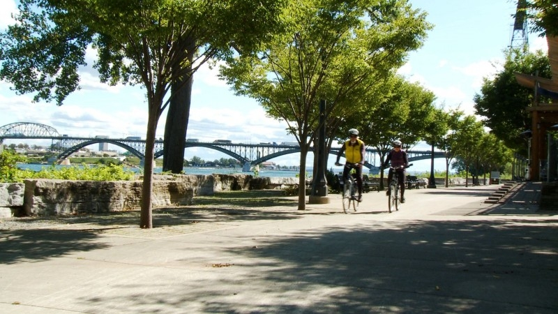 Cycling in Fort Erie